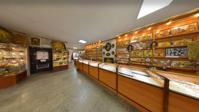 The Amber Store - Interior photography